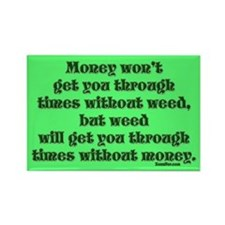 Money & Weed... Magnet