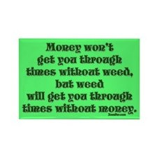 Money & Weed... Magnet (10 pack)