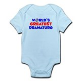 World's Greatest Drama.. (A) Infant Bodysuit