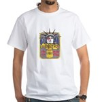 FBI New York District SSG White T-Shirt