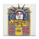FBI New York District SSG Tile Coaster