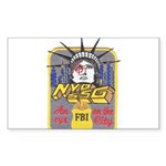 FBI New York District SSG Rectangle Sticker