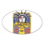 FBI New York District SSG Oval Sticker