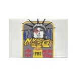 FBI New York District SSG Rectangle Magnet (10 pac