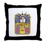FBI New York District SSG Throw Pillow