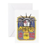 FBI New York District SSG Greeting Cards (Pk of 20