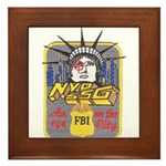 FBI New York District SSG Framed Tile