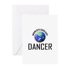 World's Coolest DANCER Greeting Cards (Pk of 10)