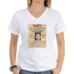 Lucky Luciano Women's V-Neck T-Shirt