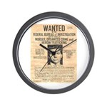 Lucky Luciano Wall Clock