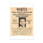 Lucky Luciano Mini Poster Print