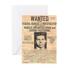 Lucky Luciano Greeting Card