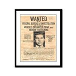 Lucky Luciano Framed Panel Print