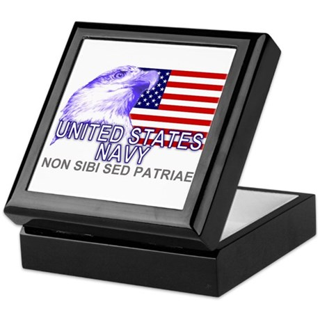 United States Navy Keepsake Box