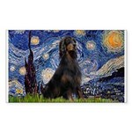 Starry Night & Gordon Sticker (Rectangle)