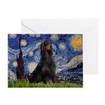 Starry Night & Gordon Greeting Card
