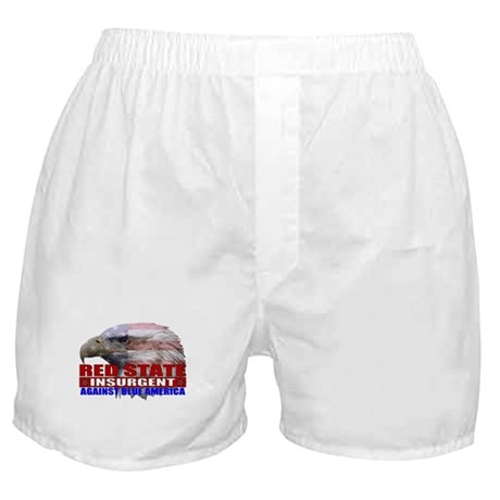 Red State Insurgent T-shirts  Boxer Shorts