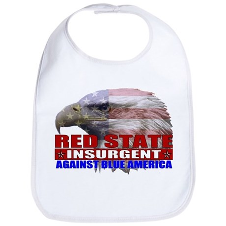 Red State Insurgent T-shirts  Bib
