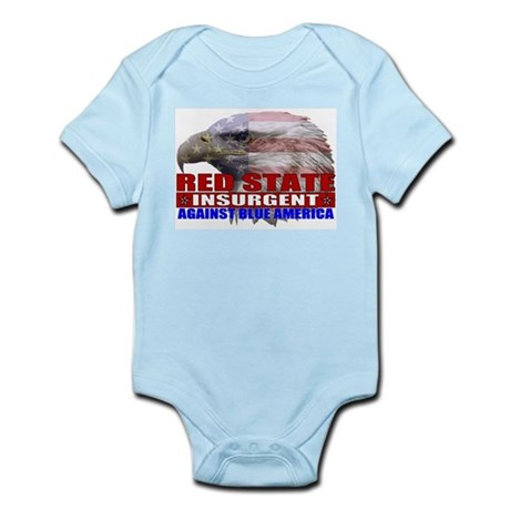 Red State Insurgent T-shirts  Infant Creeper