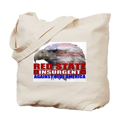 Red State Insurgent T-shirts  Tote Bag