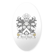 Dewi Sant (Saint David) Oval Decal
