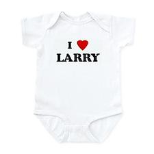 I Love LARRY Infant Bodysuit