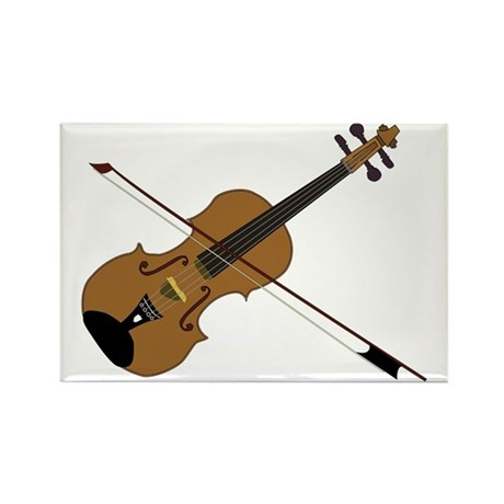 Fiddle or Violin? Rectangle Magnet