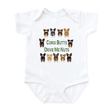 Both Corgi Butts Infant Creeper