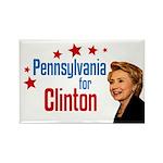 Pennsylvania for Clinton Political Magnet