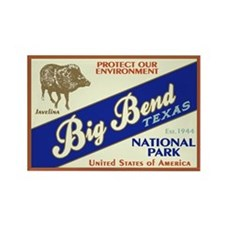 Big Bend (Javelina) Rectangle Magnet