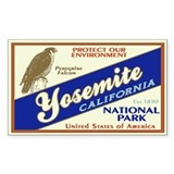 Yosemite (Falcon) Rectangle Decal