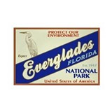 Everglades (Egret) Rectangle Magnet