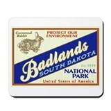 Badlands (Rabbit) Mousepad