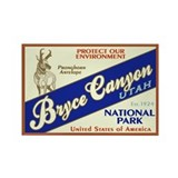 Bryce Canyon (Antelope) Rectangle Magnet