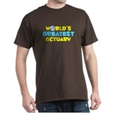World's Greatest Actuary (C) T-Shirt
