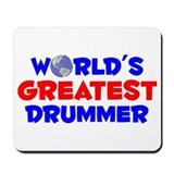 World's Greatest Drummer (A) Mousepad