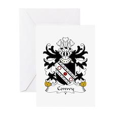 Conwy (of Bodrhyddan, Flint) Greeting Card