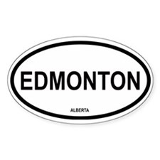 Edmonton Oval Decal