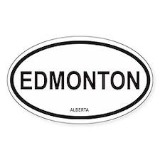 Edmonton Oval Decal