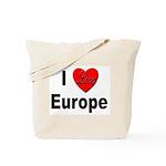 I Love Europe Tote Bag