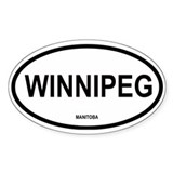 Winnipeg Oval Decal