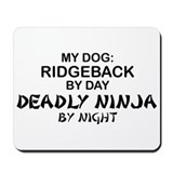 Ridgeback Deadly Ninja Mousepad
