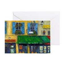 Greeting Cards (Pk of 10) Les Delis Cafe