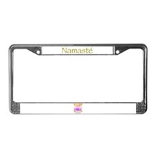 Simply Namaste License Plate Frame