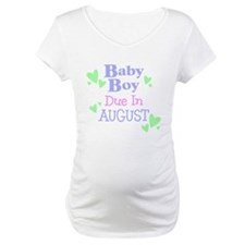 Baby Boy Due In August Shirt