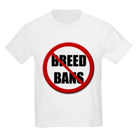 No Breed Bans Kids T-Shirt