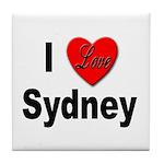 I Love Sydney Tile Coaster