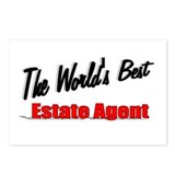 &quot; The World's Best Estate Agent&quot; Postcards (Packag