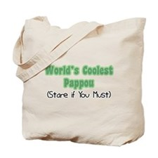 World's Coolest Pappou Tote Bag