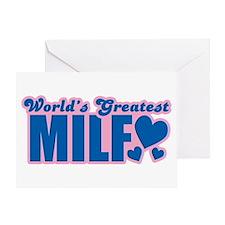 World's Greatest Milf Greeting Card